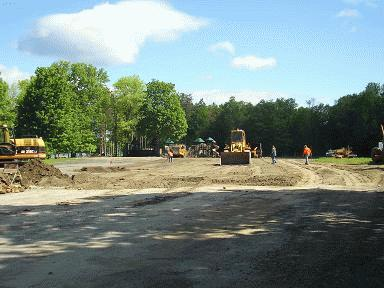 Grading of Parking Lot