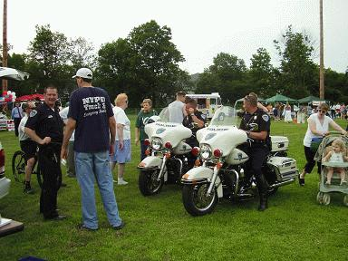 Town of Newburgh Police Motorcylces